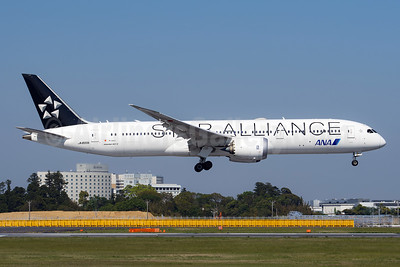 ANA (All Nippon Airways) - Air Japan Boeing 787-9 Dreamliner JA899A (msn 34519) (Star Alliance) NRT (Akira Uekawa). Image: 953557.
