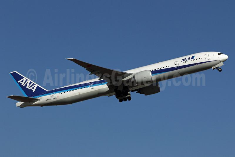 ANA (All Nippon Airways) Boeing 777-381 ER JA784A (msn 37950) NRT (Michael B. Ing). Image: 908204.