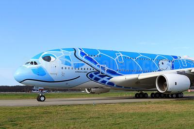 """Lani"", ANA's first A380, to become JA381A"