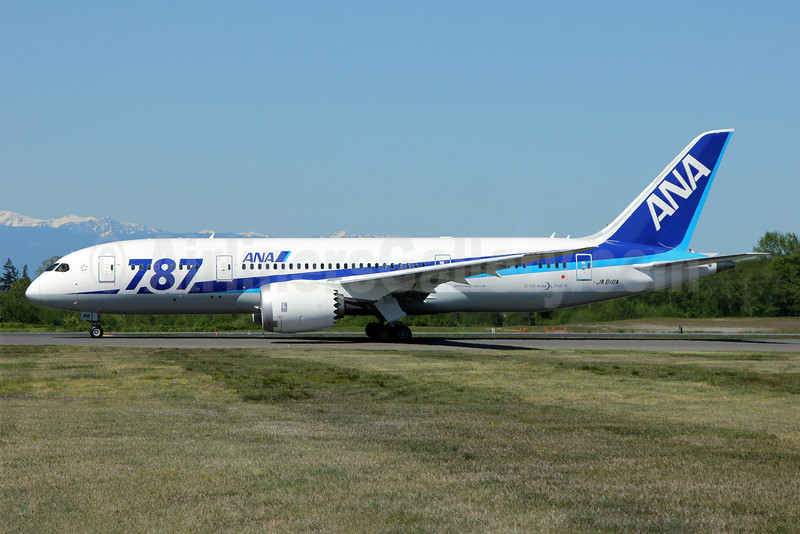 "ANA (All Nippon Airways) Boeing 787-8 Dreamliner JA818A (msn 42243) ""787"" PAE (Nick Dean). Image: 912003."