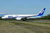 """ANA (All Nippon Airways) Boeing 787-8 Dreamliner JA818A (msn 42243) """"787"""" PAE (Nick Dean). Image: 912003."""