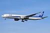 ANA (All Nippon Airways) Boeing 777-381 ER JA733A (msn 32648) LHR (Keith Burton). Image: 900928.
