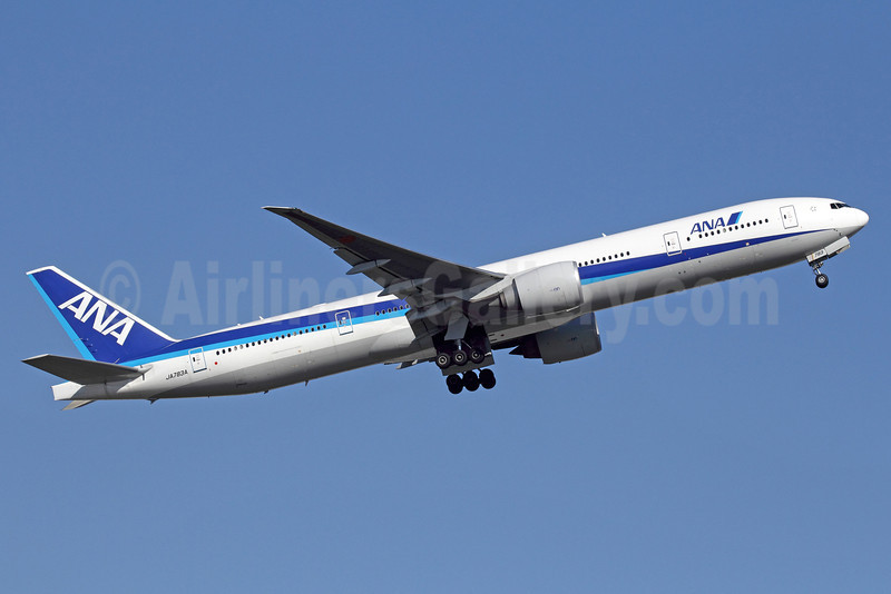 ANA (All Nippon Airways) Boeing 777-381 ER JA783A (msn 27940) NRT (Michael B. Ing). Image: 912570.
