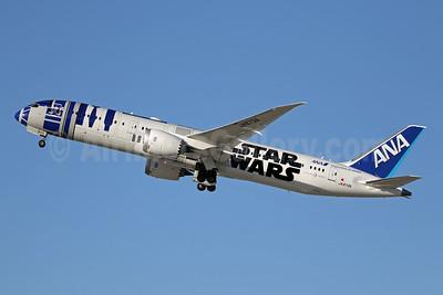 ANA (All Nippon Airways) Boeing 787-9 Dreamliner JA873A (msn 34530) LAX (Ron Monroe). Image: 943955.