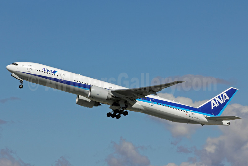 ANA (All Nippon Airways) Boeing 777-381 ER JA783A (msn 27940) LAX (Michael B. Ing). Image: 906364.
