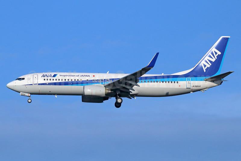 ANA (All Nippon Airways) Boeing 737-881 WL JA56AN (msn 33893) NRT (Michael B. Ing). Image: 929293.