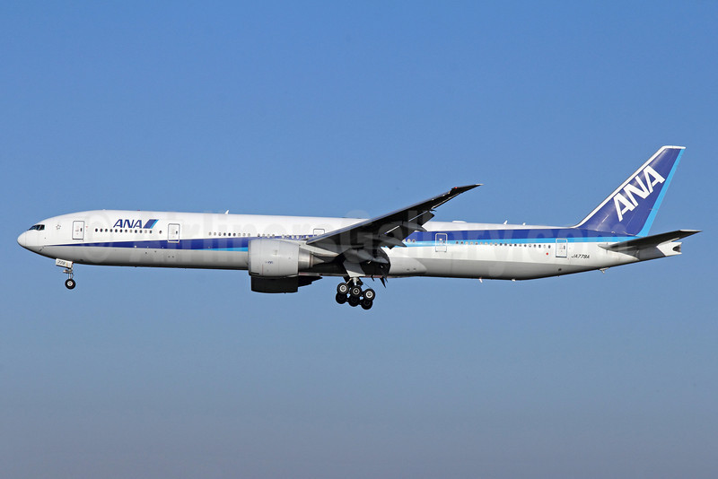 ANA (All Nippon Airways) Boeing 777-381 ER JA779A (msn 34894) NRT (Michael B. Ing). Image: 922512.