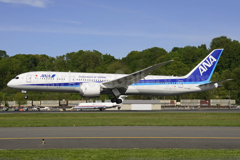 First Boeing 787-9 Dreamliner for ANA