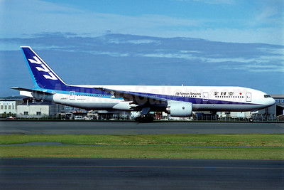All Nippon Airways Boeing 777-281 JA8197 (msn 27027) CTS (Christian Volpati Collection). Image: 940425.