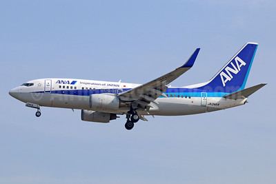 ANA (All Nippon Airways) Boeing 737-781 WL JA04AN (msn 33874) (Inspiration of Japan) PEK (Michael B. Ing). Image: 933459.