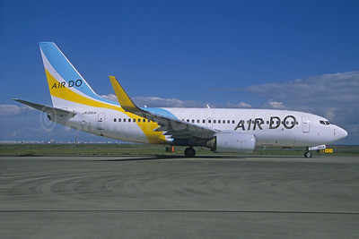 Air Do Boeing 737-781 WL JA01AN (msn 33916) HND (Jacques Guillem Collection). Image: 931026.