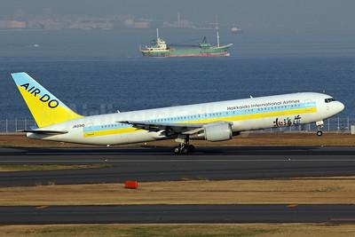 Air Do-Hokkaido International Airlines Boeing 767-33A ER JA01HD (msn 28159) HND (Michael B. Ing). Image: 901281.
