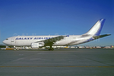 Galaxy Airlines (Japan) Airbus A300F4-622R JA02GX (msn 872) HND (Jacques Guillem Collection). Image: 932150.