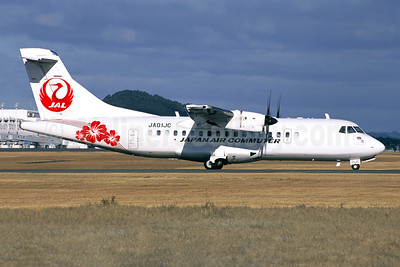 JAL - Japan Air Commuter ATR 42-600 F-WWLT (JA01JC) (msn 1215) KOJ (Jacques Guillem Collection). Image: 942455.