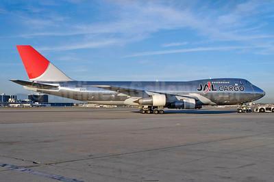 JAL Cargo (Japan Airlines) Boeing 747-246F JA8180 (msn 23641) LAX (Roy Lock). Image: 931671.