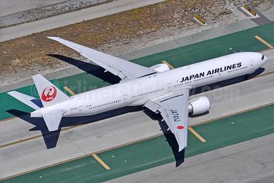 JAL-Japan Airlines Boeing 777-346 ER JA741J (msn 36128) LAX (Robbie Shaw). Image: 938121.