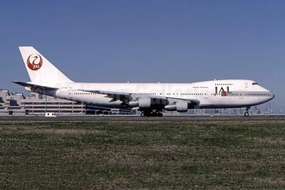 JAL-Japan Airlines Boeing 747-146 JA8164 (msn 23150) HND (Christian Volpati). Image: 944885.