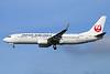 JAL-Japan Airlines Boeing 737-846 WL JA321J (msn 35350) NRT (Michael B. Ing). Image: 934407.