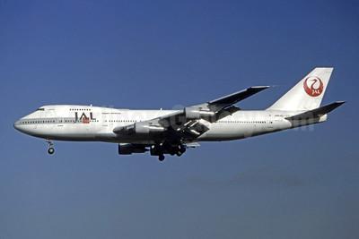 JAL-Japan Airlines Boeing 747-246B JA8140 (msn 22064) (Jay Selman). Image: 403926.