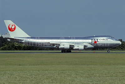 JAL Cargo (Japan Airlines) Boeing 747-246F JA8180 (msn 23641) NRT (Christian Volpati Collection). Image: 939619.