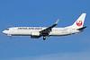 JAL-Japan Airlines Boeing 737-846 WL JA319J (msn 35348) NRT (Michael B. Ing). Image: 933994.