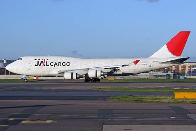 JAL Cargo (Japan Airlines) Boeing 747-446 (F) JA8902 (msn 26344) LHR (SPA). Image: 939823.