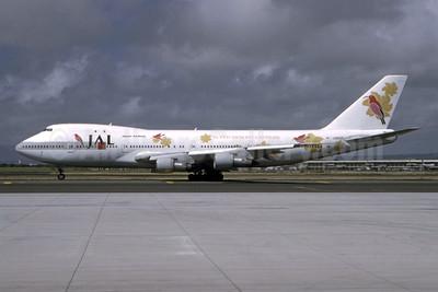 """JAL's 1994 """"Super Resort Express"""" livery"""