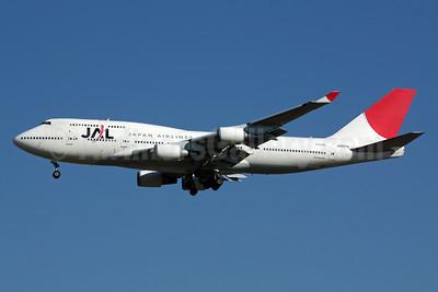 JAL-Japan Airlines Boeing 747-446 JA8076 (msn 24777) NRT (Michael B. Ing). Image: 901541.
