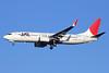 JAL-Japan Airlines Boeing 737-846 WL JA312J (msn 35341) NRT (Michael B. Ing). Image: 911518.