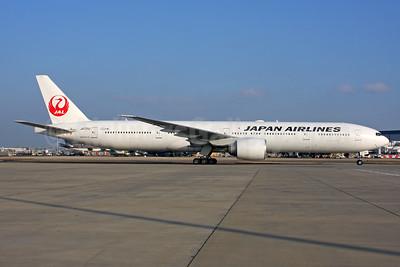 JAL-Japan Airlines Boeing 777-346 ER JA731J (msn 32431) LHR. Image: 939530.