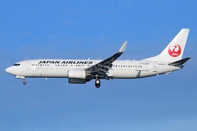 JAL-Japan Airlines Boeing 737-846 WL JA304J (msn 35333) NRT (Michael B. Ing). Image: 933992.