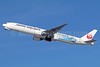 JAL-Japan Airlines Boeing 777-346 ER JA733J (msn 32432) (JET-KAI - Kei Nishikori) LAX (Michael B. Ing). Image: 935985.