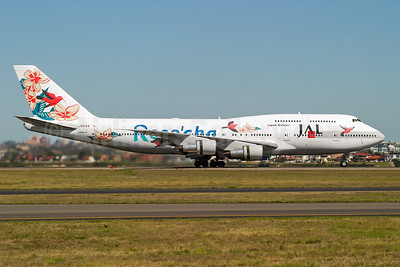 "JAL's 2000 ""Reso'cha"" special livery"