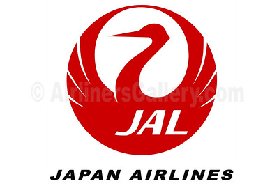 1. JAL - Japan Airlines logo
