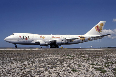 "JAL's 1999 ""Reso'cha"" livery for Hawaii flights"