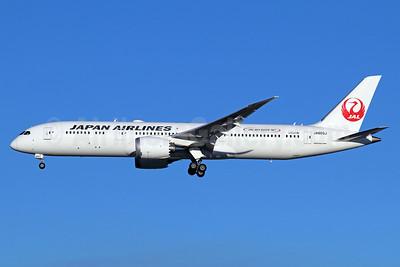 """JAL Sky Suite 787"" logo"