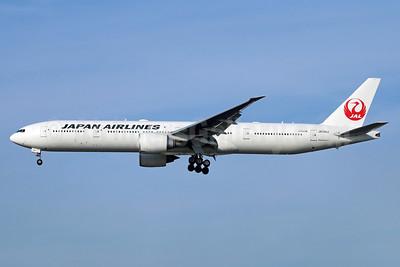JAL-Japan Airlines Boeing 777-346 ER JA741J (msn 36128) NRT (Michael B. Ing). Image: 938122.