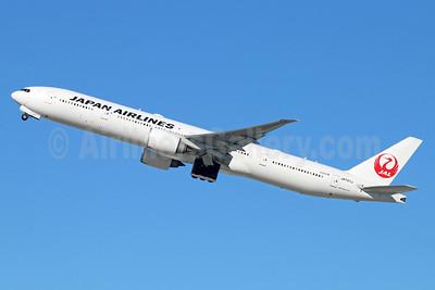 JAL-Japan Airlines Boeing 777-346 ER JA737J (msn 36126) LAX (Michael B. Ing). Image: 940150.