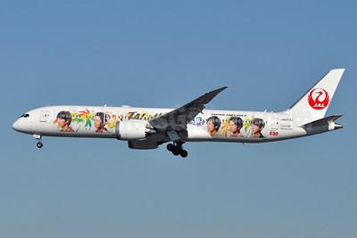 JAL Hawaii (Japan Airlines) Boeing 787-9 Dreamliner JA873J (msn 34852) (Arashi) LAX  (Tony Storck). Image: 948874.