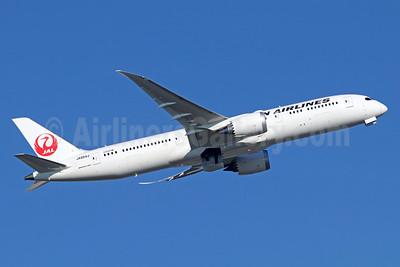 JAL-Japan Airlines Boeing 787-9 DreamlinerJA864J (msn 34858) NRT (Michael B. Ing). Image: 940439.