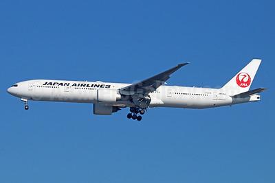 JAL-Japan Airlines Boeing 777-346 ER JA741J (msn 36128) LAX (Michael B. Ing). Image: 938123.
