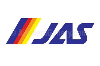 1. JAS - Japan Air System logo