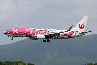 """JTA's 2017 """"Sakura Jimbei"""" (pink) jet"""