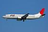 JTA-Japan Transocean Air Boeing 737-4Q3 JA8940 (msn 29487) HND (Akira Uekawa). Image: 906488.