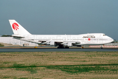 Japan Asia Airways Boeing 747-146 JA8128 (msn 21029) NRT (Jay Selman). Image: 403961.