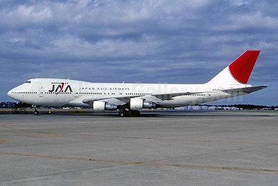 JAA - Japan Asia Airways Boeing 747-246B JA8129 (msn 21678) NRT (Christian Volpati Collection). Image: 939621.