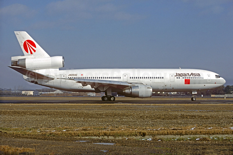 Japan Asia Airways McDonnell Douglas DC-10-40 JA8532 (msn 46660) NGO (Christian Volpati Collection). Image: 927994.