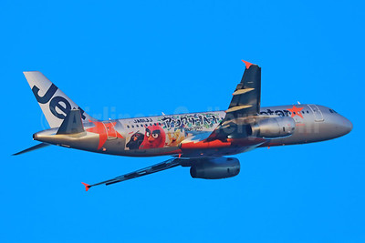"Jetstar Japan's 2016 ""Angry Birds"" logo jets"