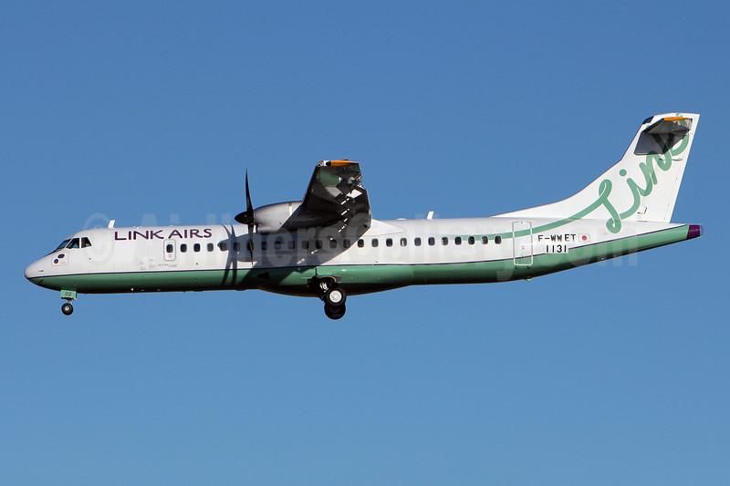 Link Airs ATR 72-212A (ATR 72-600) F-WWET (JA02LK) (msn 1131) TLS (Olivier Gregoire). Image: 921781.