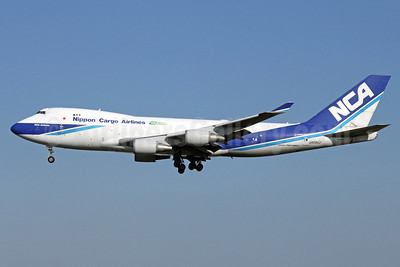 NCA-Nippon Cargo Airlines Boeing 747-4KZF JA06KZ (msn 36133) NRT (Michael B. Ing). Image: 922089.